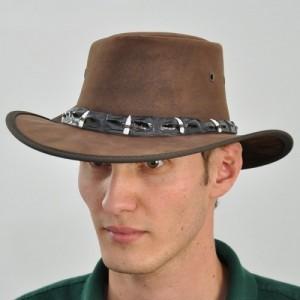 Westernový klobúk 1033 kožený