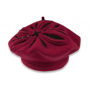 Dámsky baret wisbaflora 1
