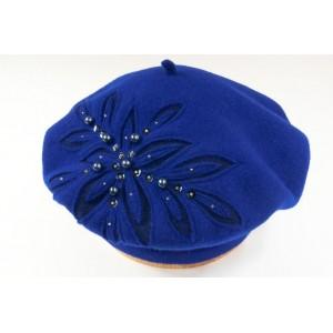 Dámsky baret wisbaflora 6