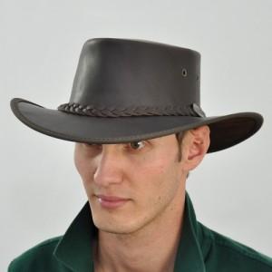 Westernový klobúk 1026 kožený