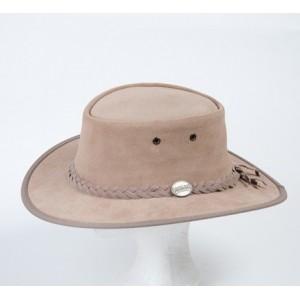 Westernový klobúk 1061 kožený