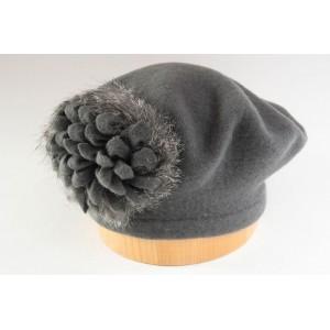 Pletený baret finora